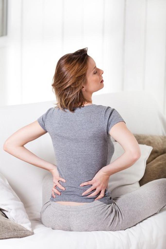 Stock Photo: 4252-24359 Woman back massage