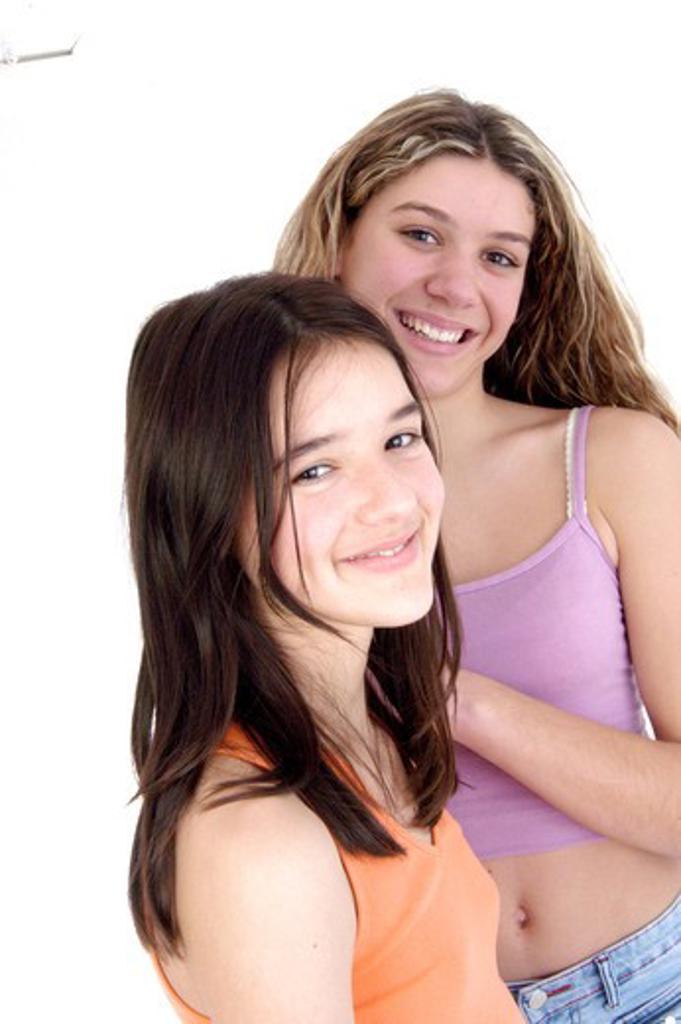Teenage girls : Stock Photo