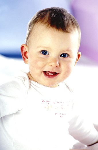 Stock Photo: 4252-26470 Baby, portrait