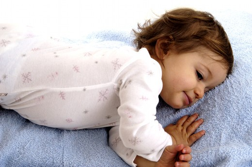 Stock Photo: 4252-29165 Baby nap