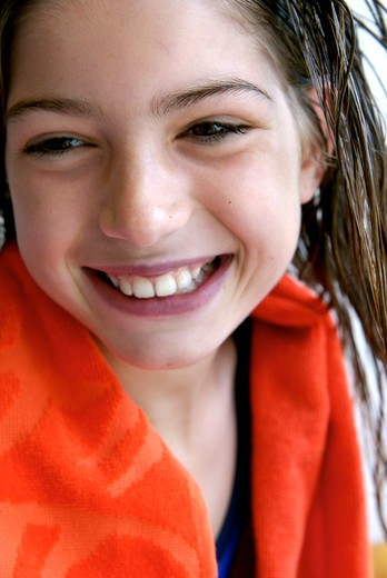 Stock Photo: 4252-30240 Girl portrait