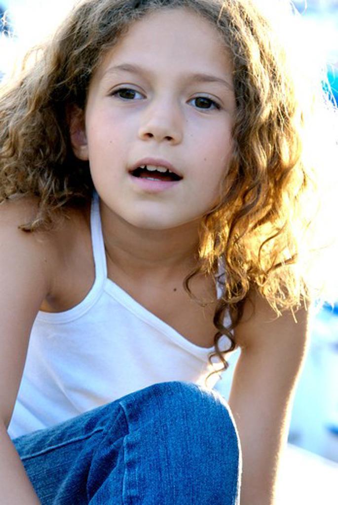 Little girl portrait : Stock Photo