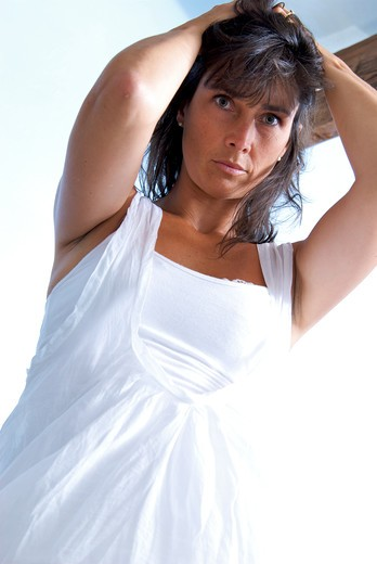 Stock Photo: 4252-31148 Woman problem