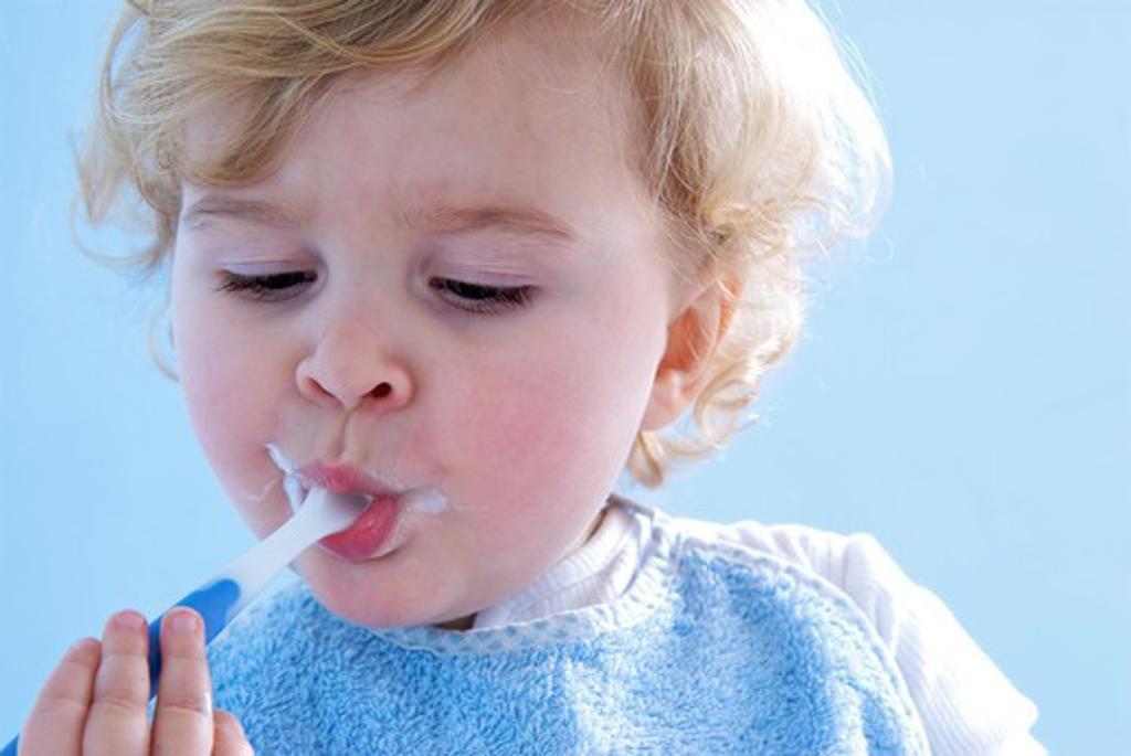 Baby spoon : Stock Photo