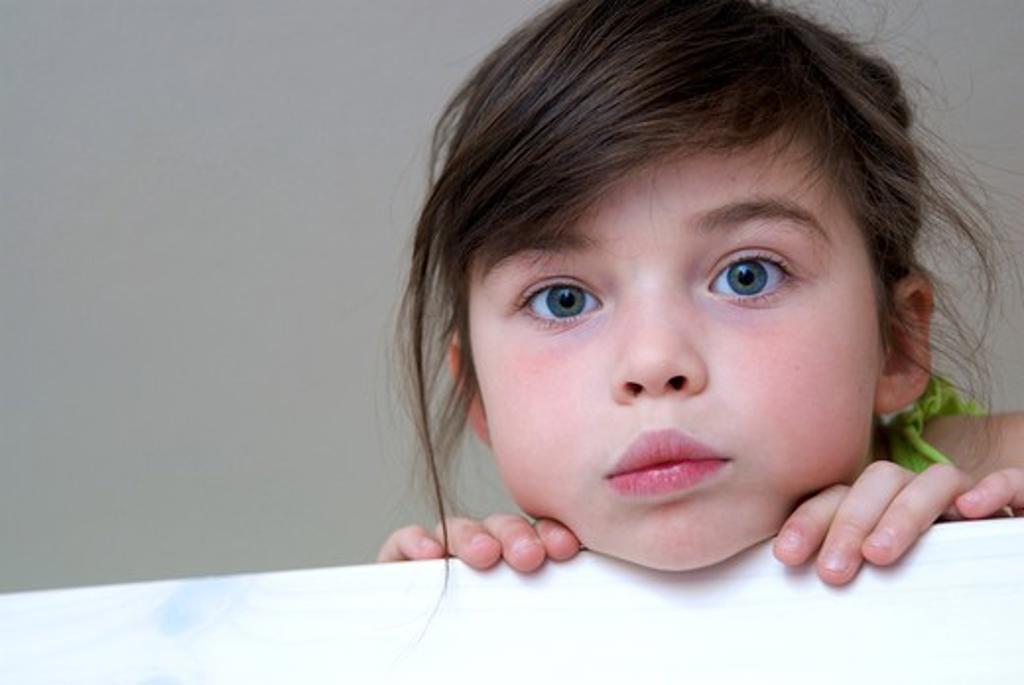 Stock Photo: 4252-31642 Little girl portrait