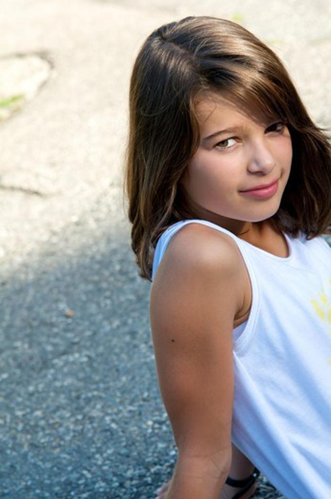 Stock Photo: 4252-32423 Girls portrait