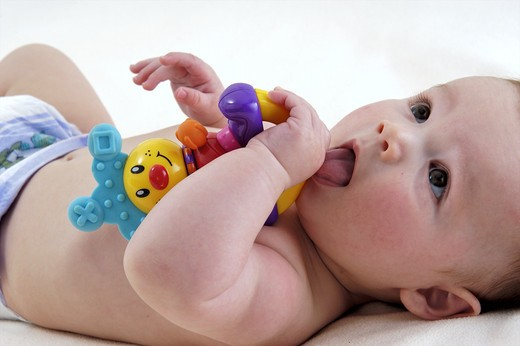 Stock Photo: 4252-32464 Baby toy