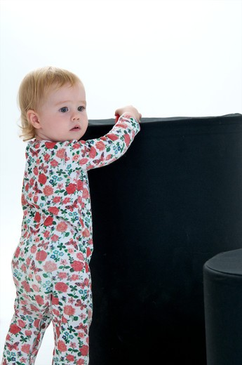 Stock Photo: 4252-32847 Baby flowered pyjamas