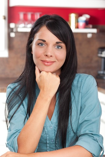 Stock Photo: 4252-33036 Woman portrait