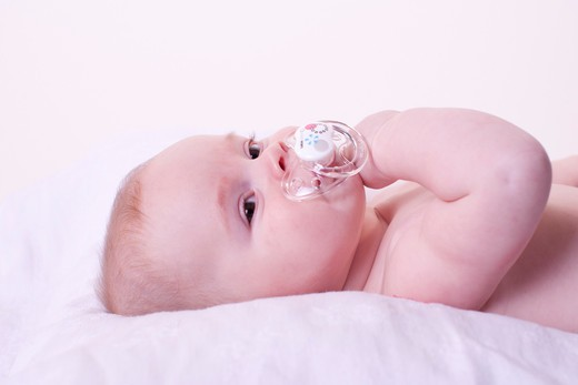 Stock Photo: 4252-33526 Baby pacifier