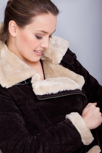 Stock Photo: 4252-33961 Woman winter jacket