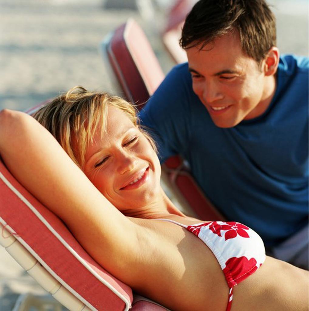 Stock Photo: 4252-6156 Couple holidays