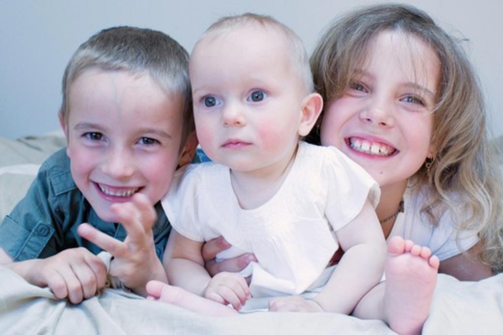 Stock Photo: 4252-945 Children portrait