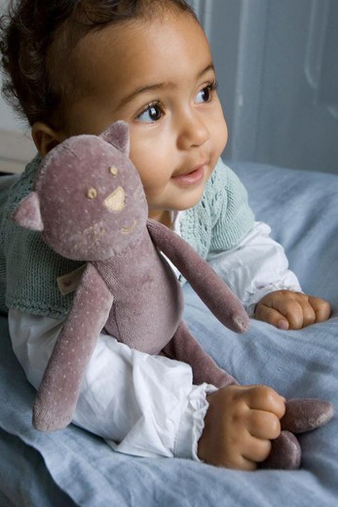 Stock Photo: 4252-993 Baby plush