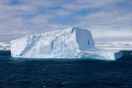 Stock Photo: 4256-1004 Antarctic iceberg,near King George Island, South Shetland Islands, Antarctica