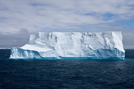 Stock Photo: 4256-1008 Antarctic iceberg,near King George Island, South Shetland Islands, Antarctica