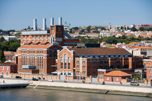 Museum of electricity in a former power plant,Lisbon, Lisboa, Portugal, Europe : Stock Photo