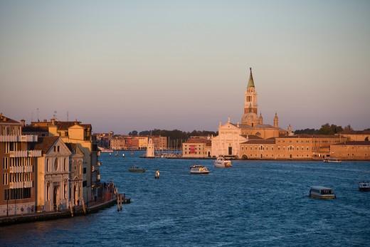 Stock Photo: 4256-1270 Canale della Guidecca,Venice, Veneto, Italy, Europe