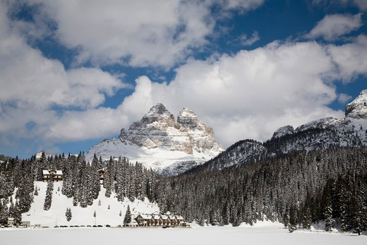 Cortina d'Ampezzo, Dolomiti chain, Veneto, Italy : Stock Photo