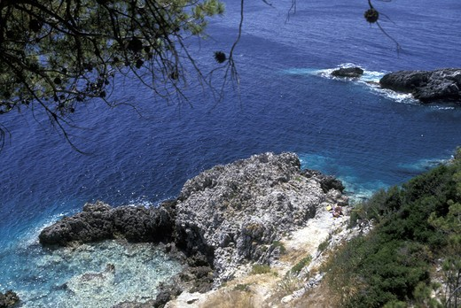 San Domino island, Tremiti islands, Puglia, Italy : Stock Photo