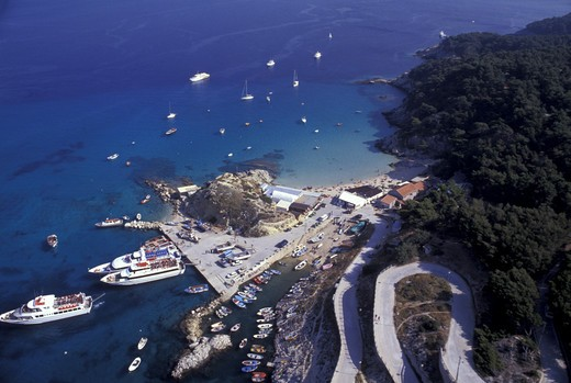 Stock Photo: 4261-10737 San Domino island, Tremiti islands, Puglia, Italy