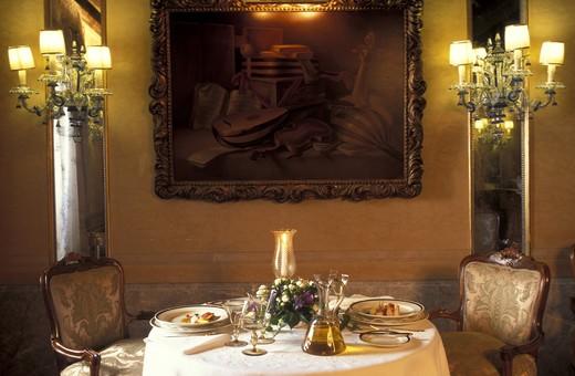 Gritti hotel, Venice, Veneto, Italy : Stock Photo