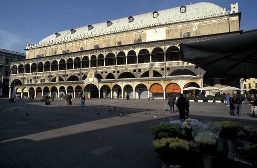 Palazzo della Regione, Padua, Veneto, Italy : Stock Photo