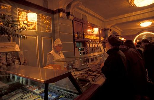 Stock Photo: 4261-11582 Eliseiev famous food shop, Saint Petersburg, Russia, Europe