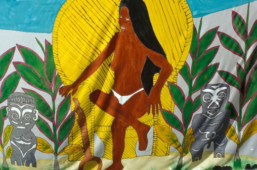 Stock Photo: 4261-12693 Souvenir, French Polynesia, South Pacific Ocean