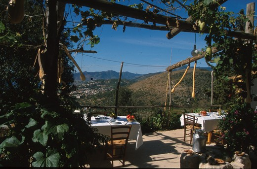 Ca du' Gregorio farm holidays, Borgio Verezzi, Liguria, Italy : Stock Photo