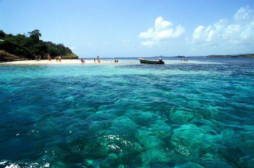 Ilot de Thierry, Martinique, French Lesser Antilles, West Indies, Central America : Stock Photo