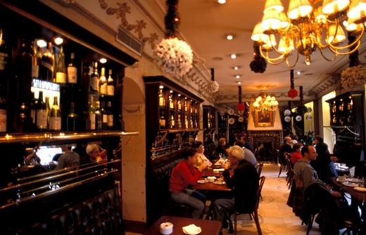 Stock Photo: 4261-13628 Cafè de Oriente, Madrid, Spain, Europe