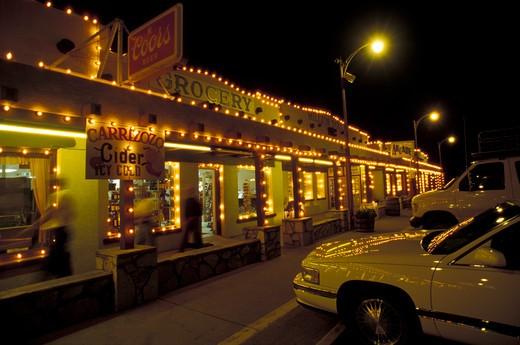 White city, New Mexico, USA, America : Stock Photo