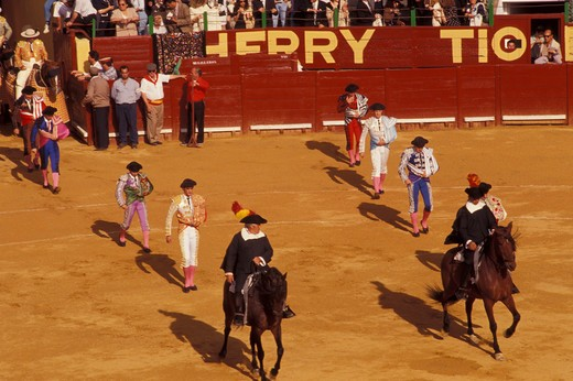 Stock Photo: 4261-14055 Bullfighting, Jerez de la Frontera, Andalusia, Kingdom of Spain, Europe