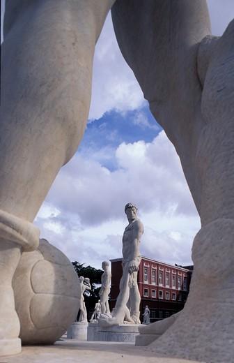 Stock Photo: 4261-14351 Stadio dei Marmi, Rome, Lazio, Italy