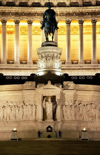 Altare della Patria, Vittoriano, Rome, Lazio, Italy : Stock Photo