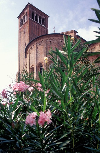San Nicolò church, Treviso, Veneto, Italy : Stock Photo