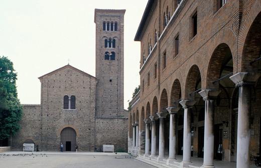 Stock Photo: 4261-14762 San Francesco church, Ravenna, Emilia-Romagna, Italy