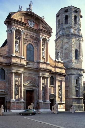 San Prospero church, Reggio-Emilia, Emilia-Romagna, Italy : Stock Photo