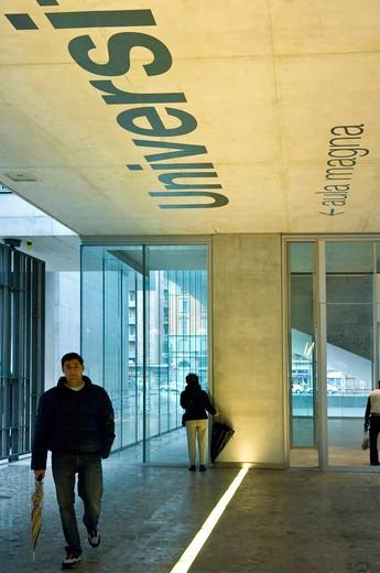 Campus Bocconi, Milan, Lombardy, Italy : Stock Photo