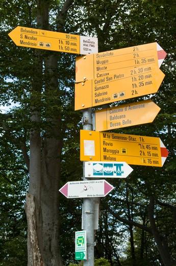 natur signals, mendrisio, switzerland : Stock Photo