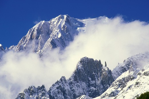 Stock Photo: 4261-18429 mont blanc, courmayeur, italy