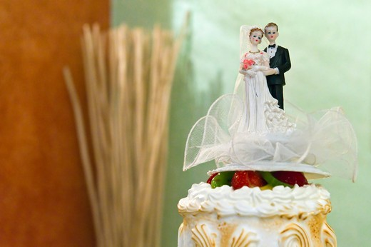 wedding cake, Italy : Stock Photo