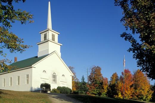 Stock Photo: 4261-20563 church, burke, usa