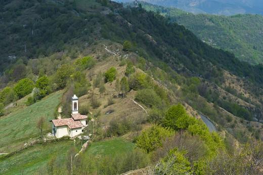 Little church, Salmezza, Lombardy, Italy : Stock Photo