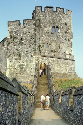 Stock Photo: 4261-21572 sussex: fort, arundel, great britain