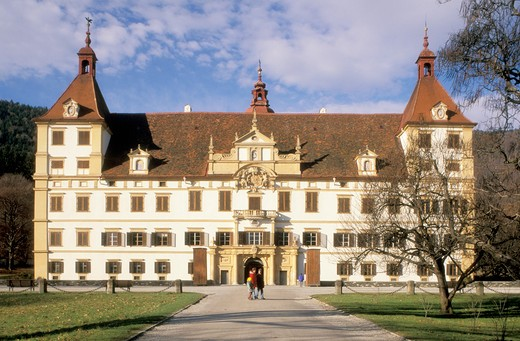 Stock Photo: 4261-21731 schloss eggenberg, graz, austria