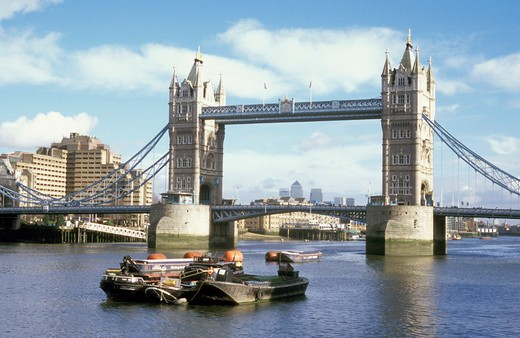 Stock Photo: 4261-22175 tower bridge, london, great britain