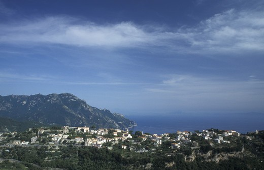 Stock Photo: 4261-2262 Ravello, Amalfi coast, Campania, Italy.