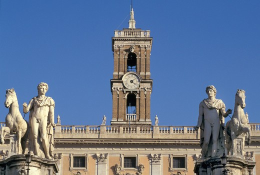 campidoglio palace, rome, italy : Stock Photo